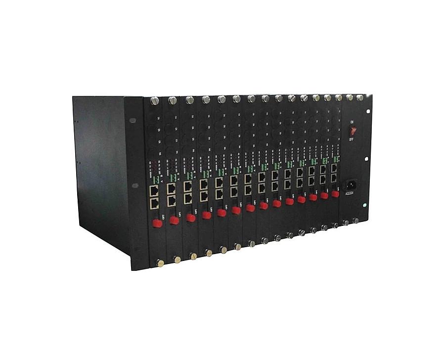 4U16槽定制业务光端机机架