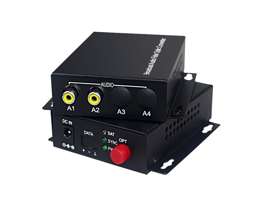 1路单向音频光端机