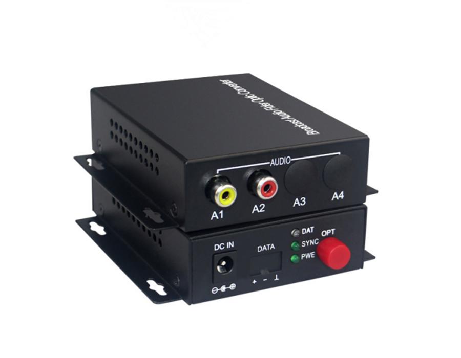 1路双向音频光端机